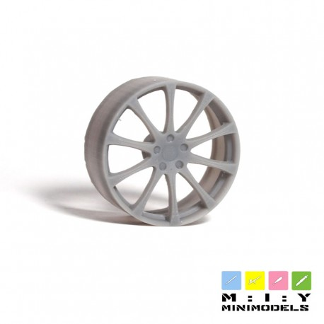 Daehler wheel set