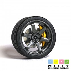 Volk Rays TE37 wheel set