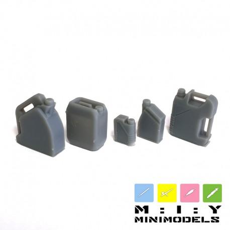 Motor oil buckets