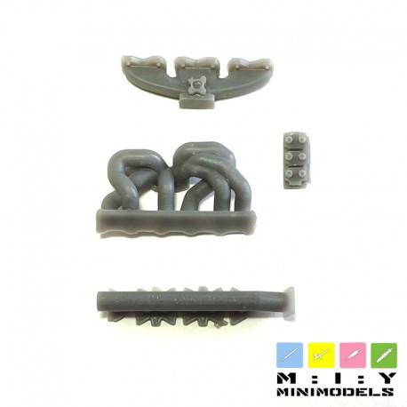 6 cilinder manifold intake system