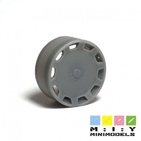 Audi W12 Gullideckel wheels