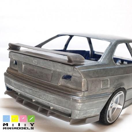 BMW M3 E36 rear diffuser extension V1