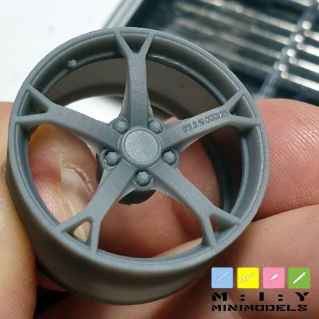 Nissan 370Z Nismo wheels