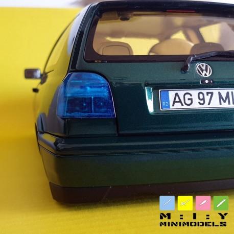 Hella color concept rear lights Golf 3