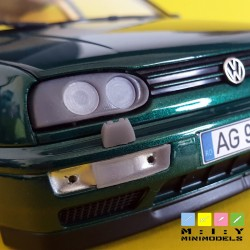 Hella dual round headlights for Golf 3
