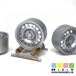 Peugeot 3008 17 inch steel wheels