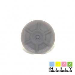 Wheel caps for 1/8 DACIA
