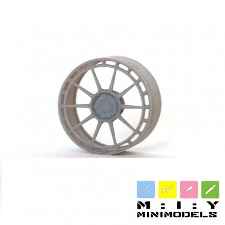 TEC GT8 forged wheels